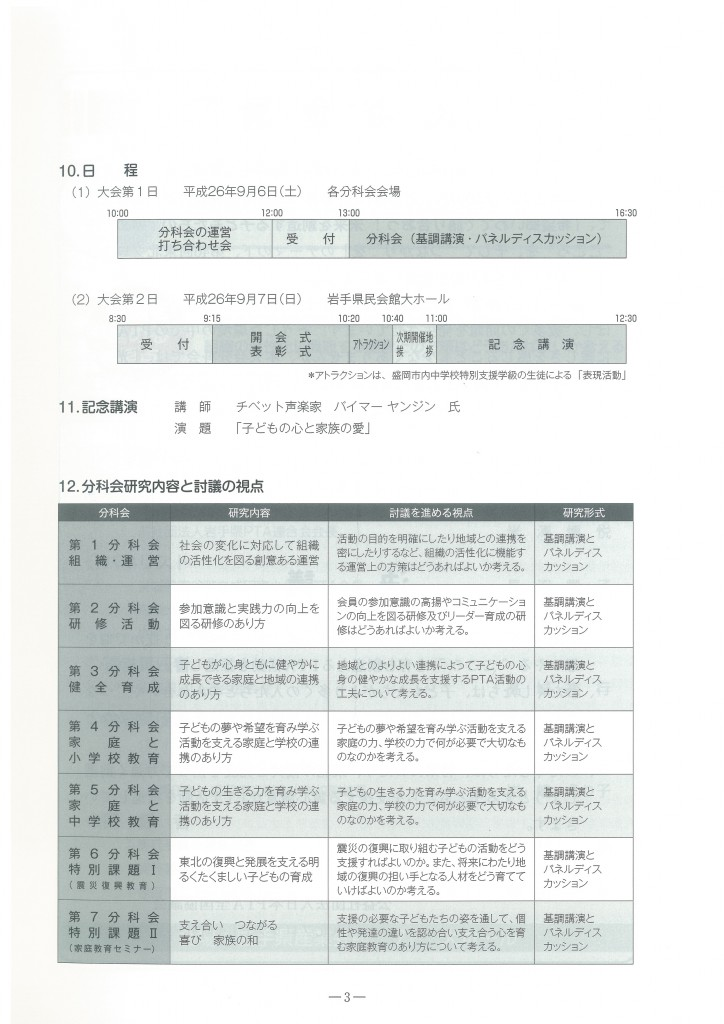 第46回東北ブロック研究大会盛岡大会記録集9